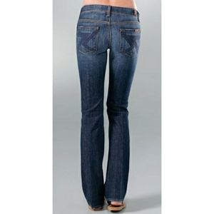 7 for All Mankind Low Rise Flynt Bootcut